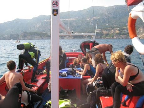 Corfu Scuba Diving